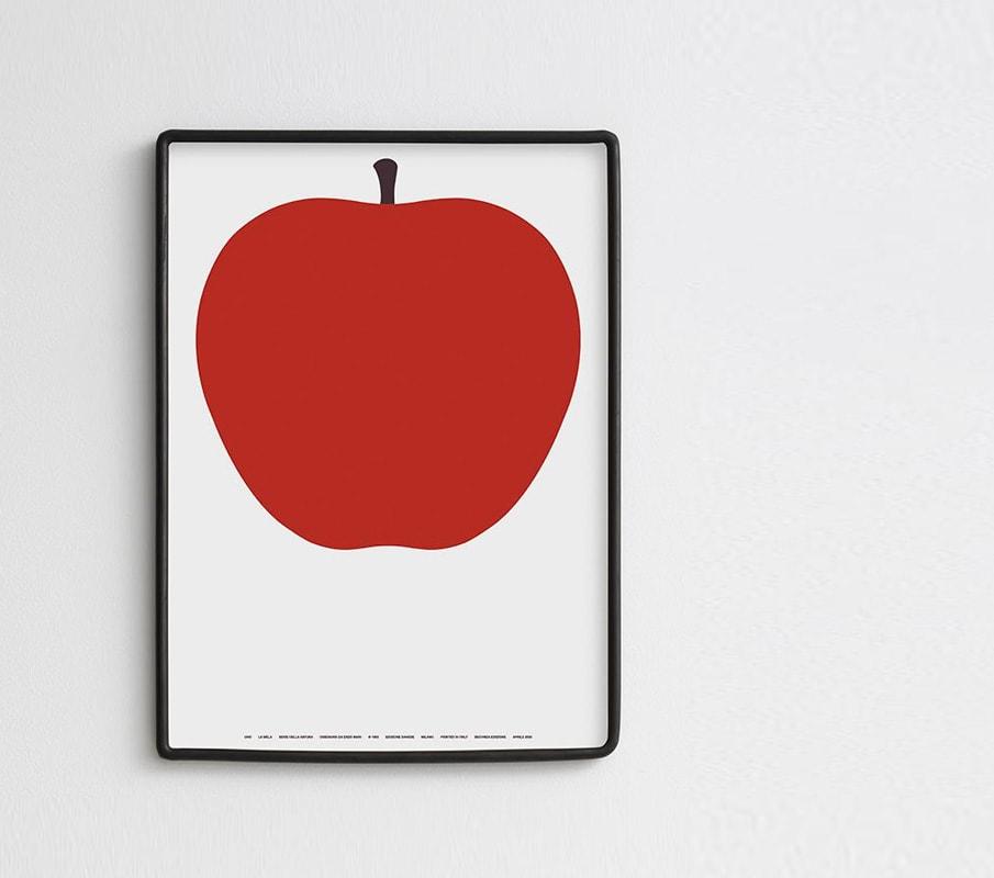 DANESE UNO La mela re-edition 50 x 70 gallery