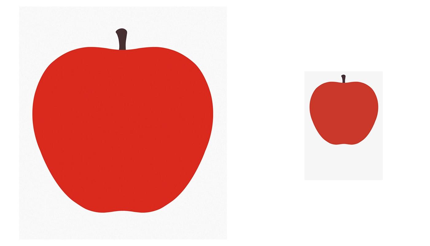 DANESE UNO La mela serigrafie piccola grande gallery