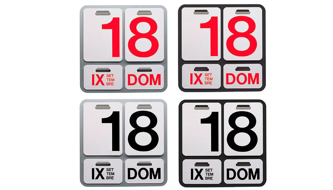 Danese Formosa calendario gallery 4