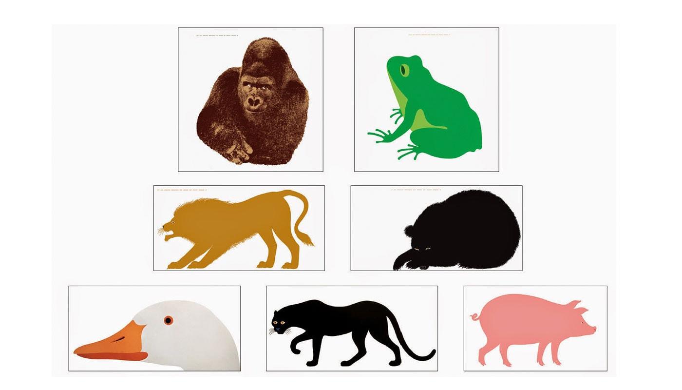 Danese serigrafie Serie della Natura - gallery
