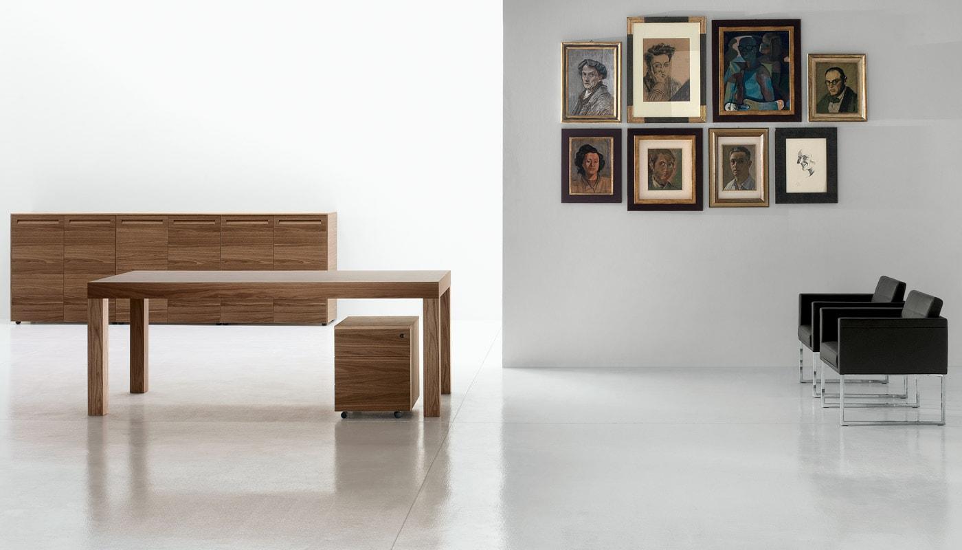 Della Chiara Erasmo tavolo - Britt Poltroncina gallery