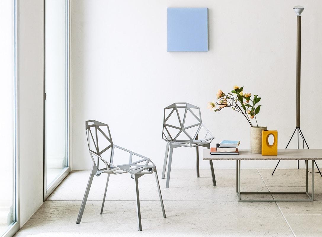 Magis ChairOne sedia in alluminio 4 gambe - gallery
