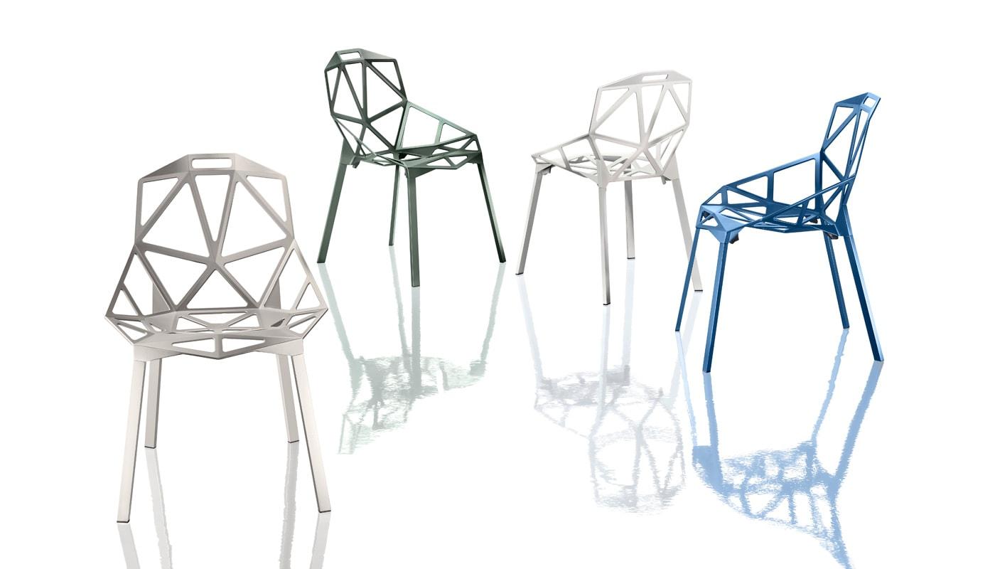 Magis ChairOne sedia in alluminio 4 gambe - gallery 2