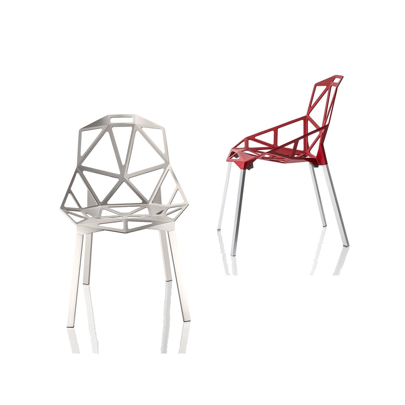 Magis ChairOne sedia in alluminio 4 gambe - shop online