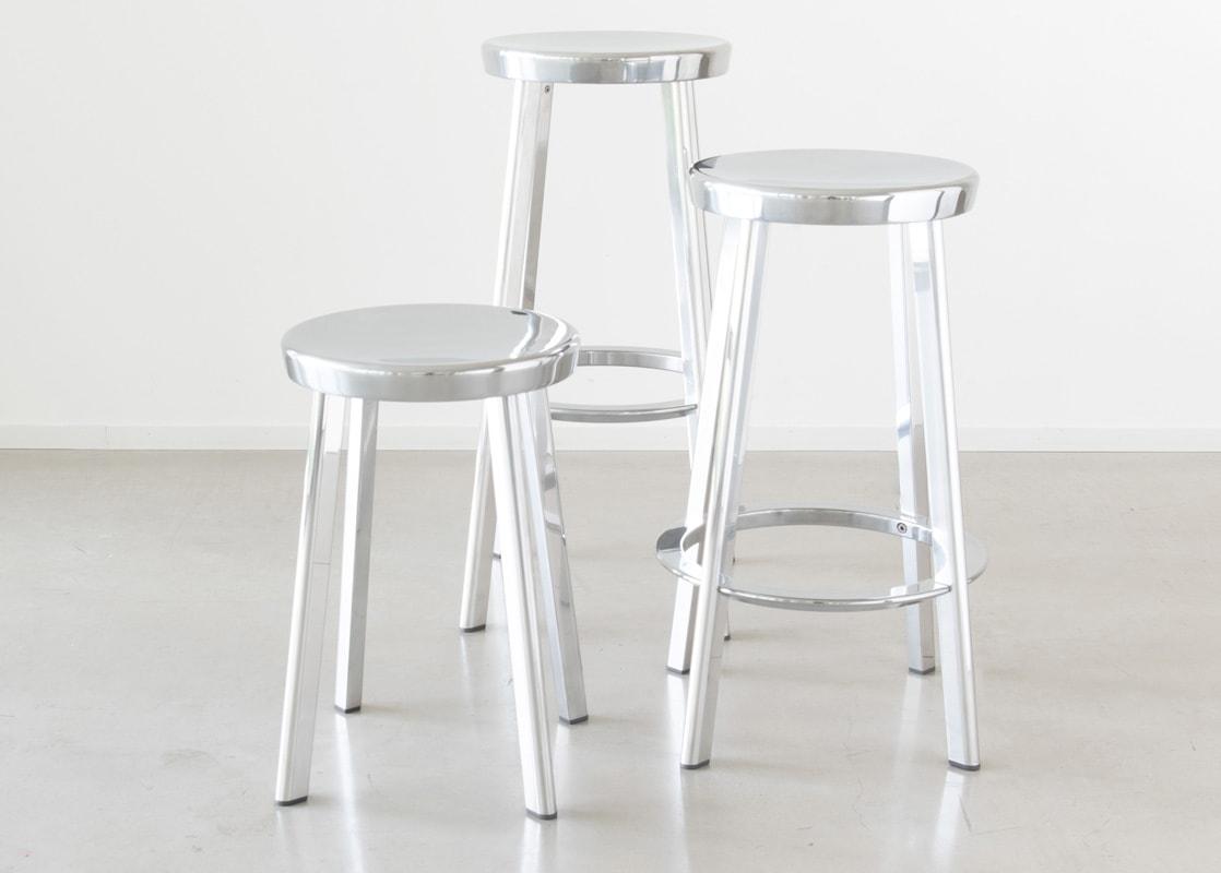 Magis Deja-vu sgabelli in alluminio - gallery