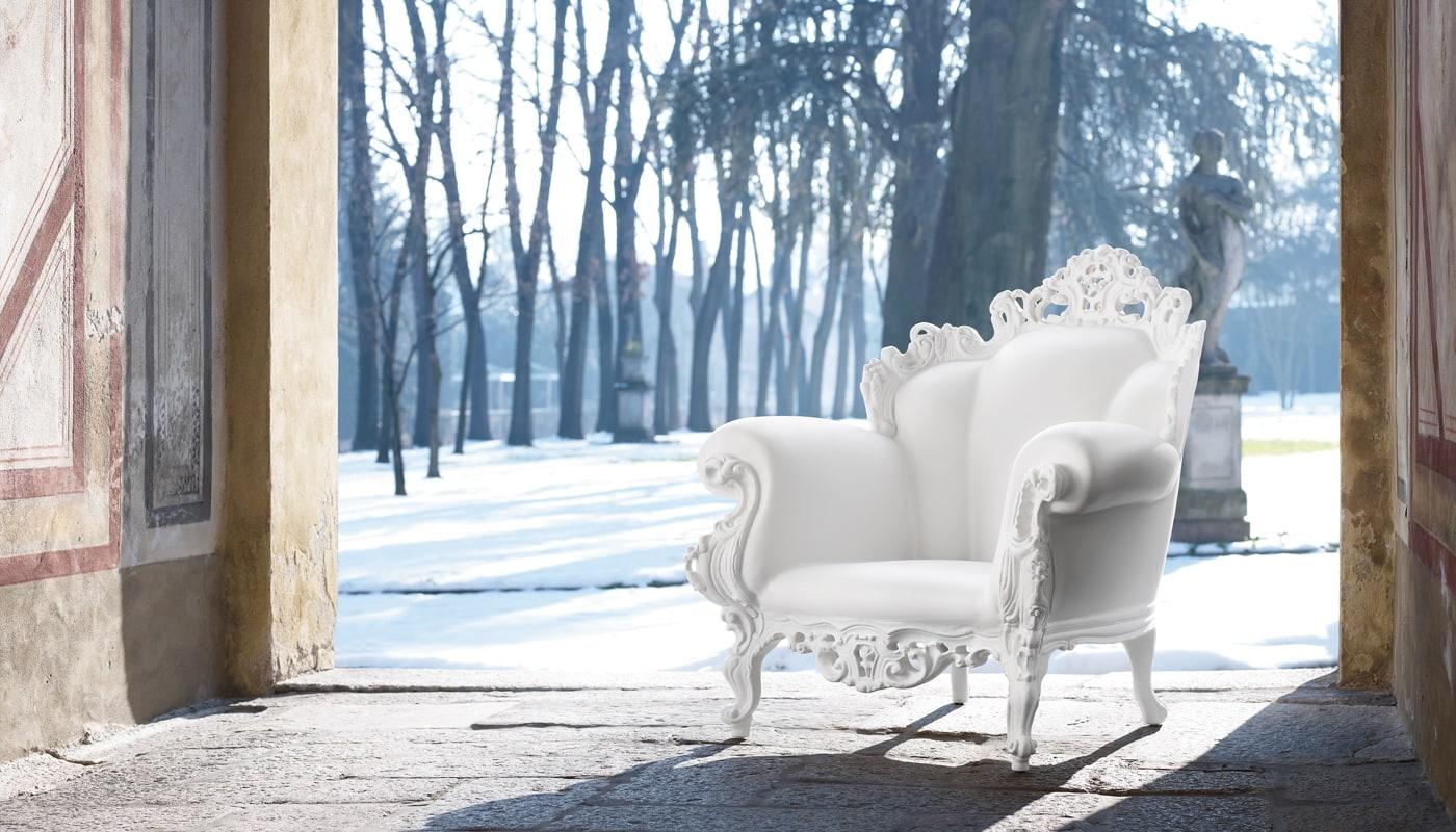 Magis Proust poltrona outdoor mendini bianca vendita online - gallery