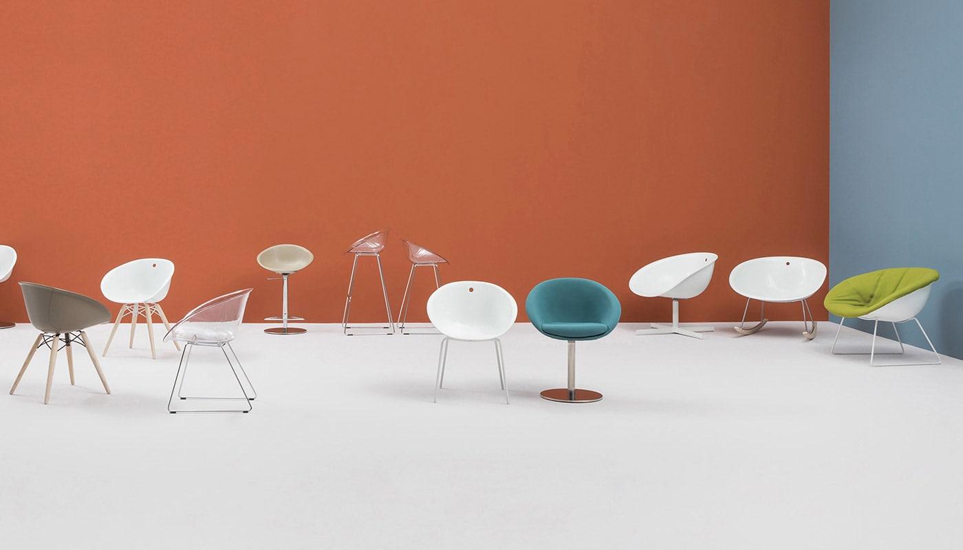 PEDRALI GLISS sedia famiglia gallery2