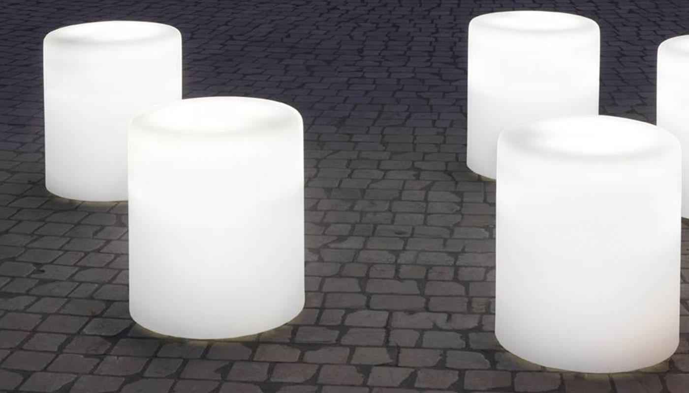 PEDRALI Wow 485 pouf luminoso