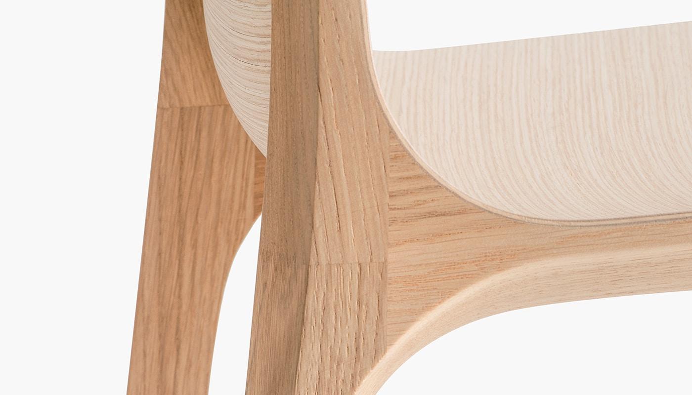 Pedrali Frida sedia in legno - gallery