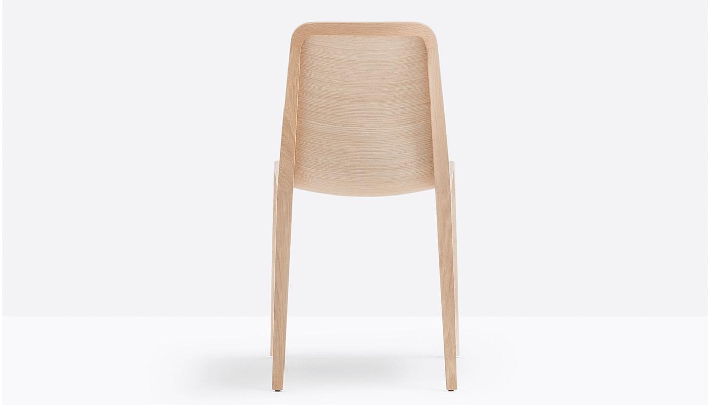 Pedrali Frida sedia in legno - gallery 2