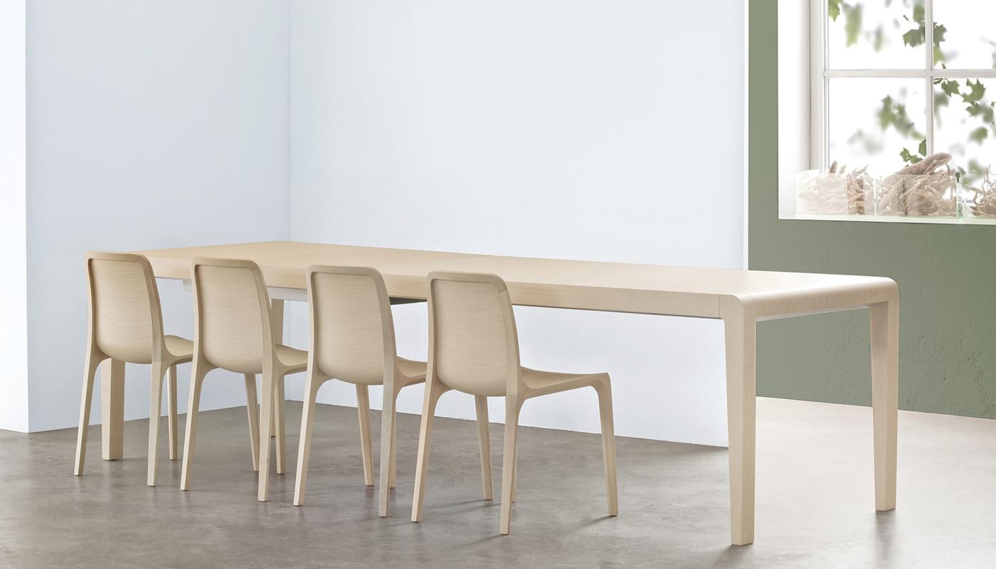 Pedrali Frida sedia in legno - gallery 4