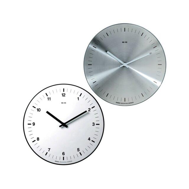 REXITE Orario orologio Inox e bianco