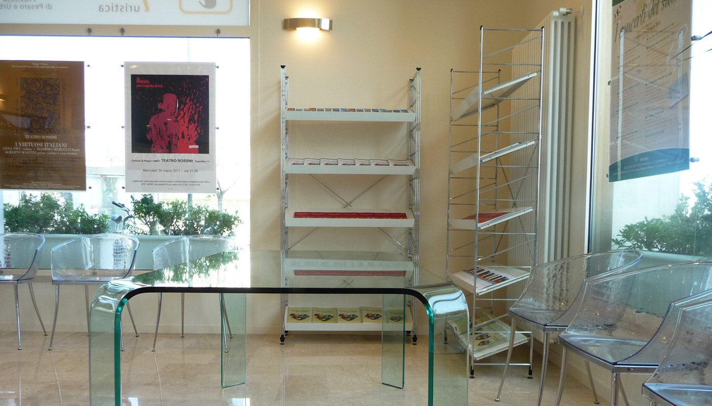Della Chiara Steel Libreria IAT Pesaro Gallery 3