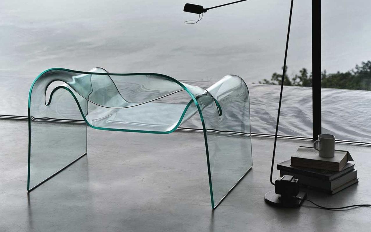 FIAM Ghost poltrona vetro curvato gallery 2