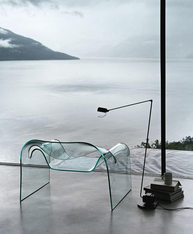FIAM Ghost poltrona vetro curvato gallery