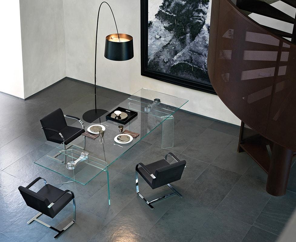 FIAM Ray Plus tavolo vetro gallery