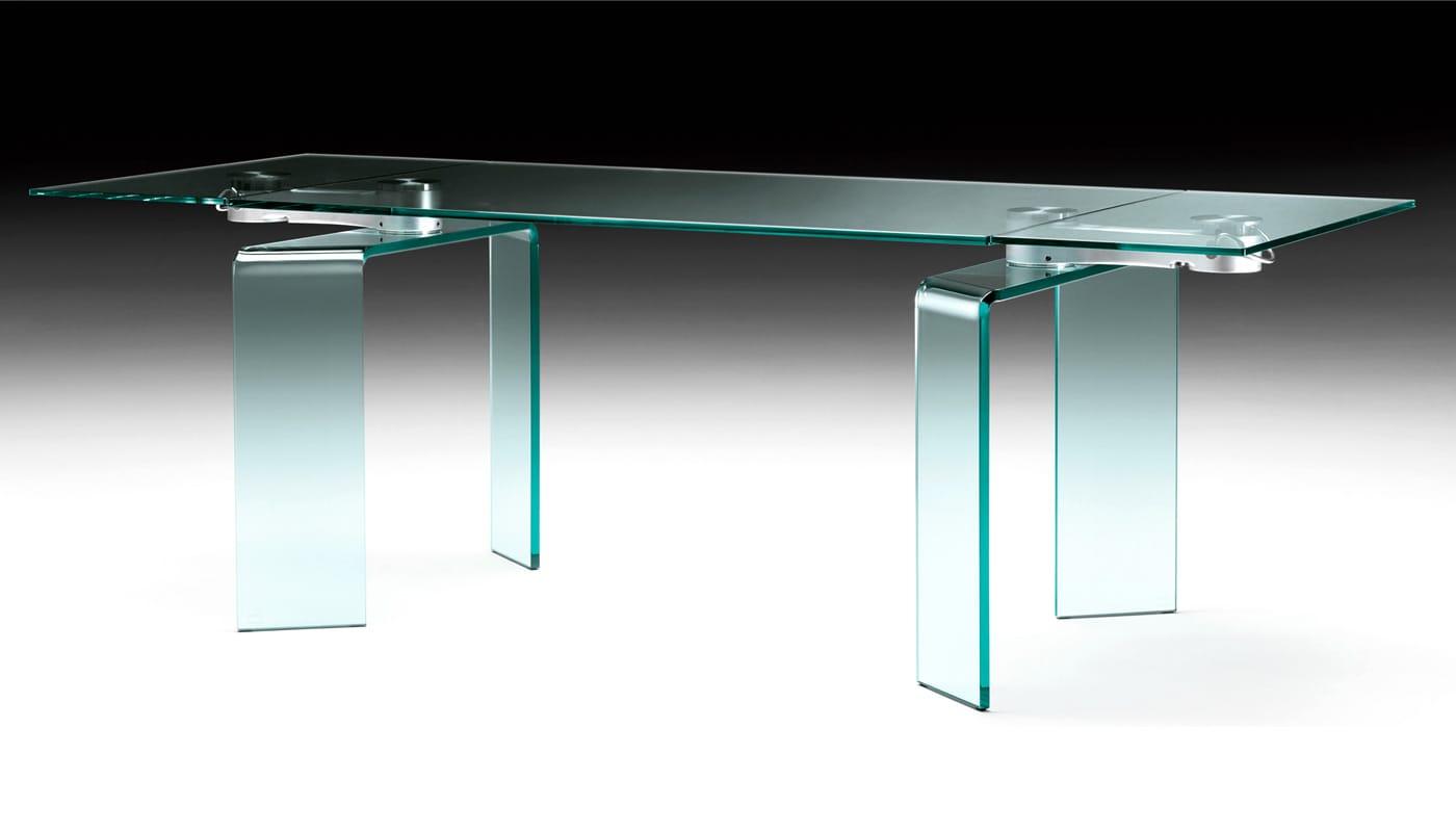 FIAM Ray Plus tavolo vetro gallery 5