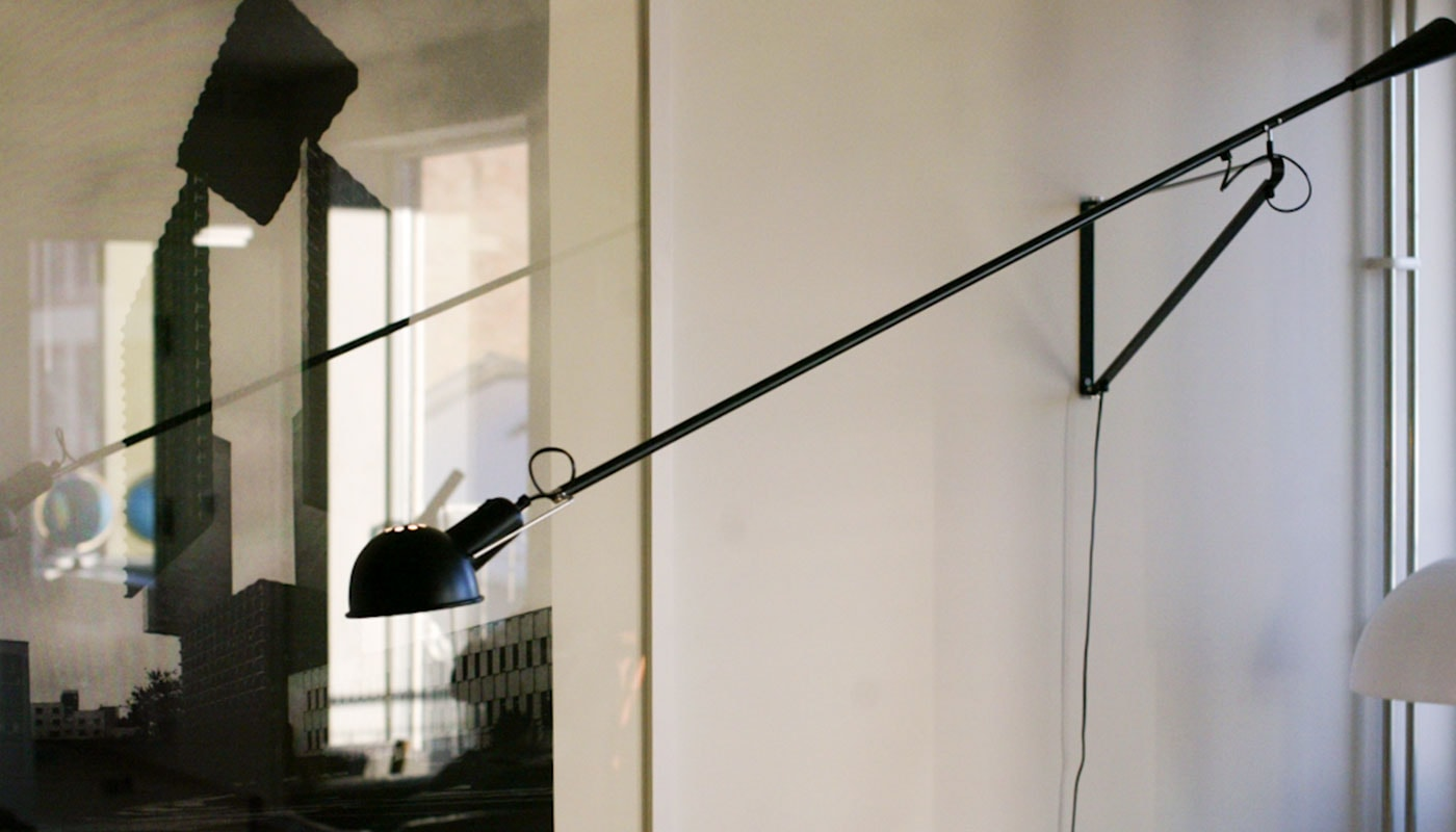 Lampada da parete braccio orientabile lampada da parete
