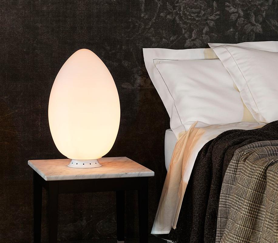 Uovo lampada da tavolo FontanaArte