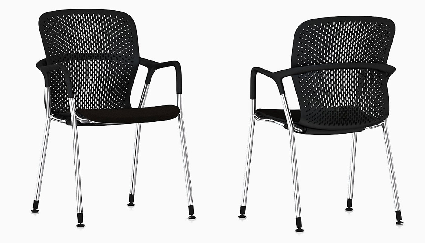 Herman Miller Keyn seduta riunione a quattro gambe