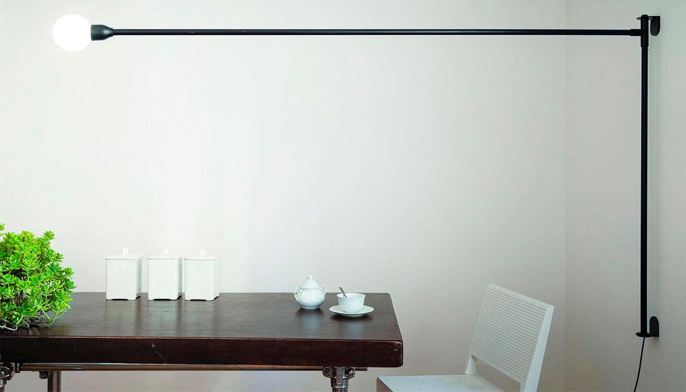 Potence Pivotante lampada a parete