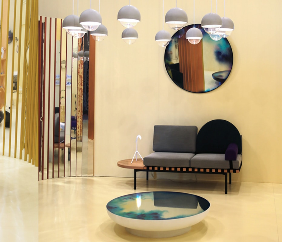 Petite Friture FRANCIS specchio tavolo gallery 2