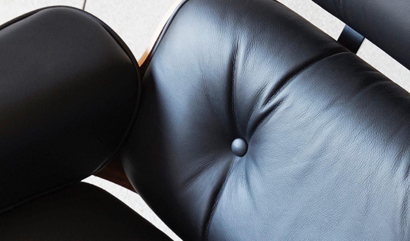 Lounge Chair & Ottoman poltrona Vitra