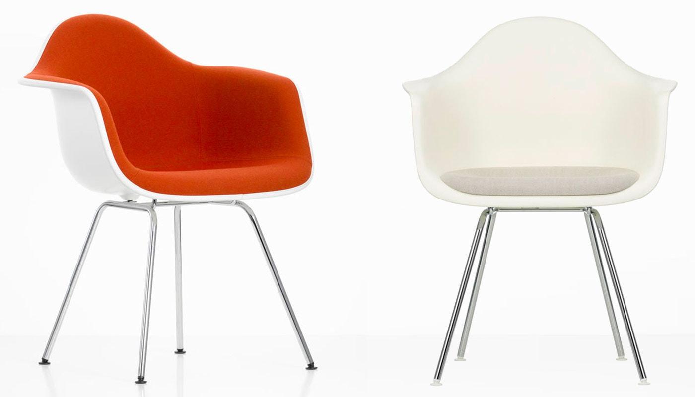 Eames Plastic Armchair DAX poltroncina Vitra