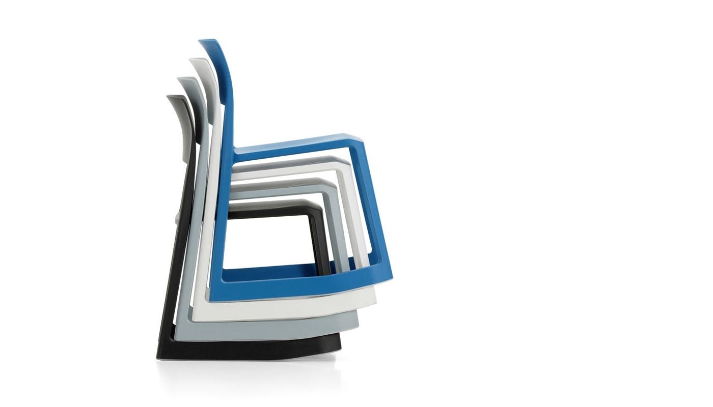 VITRA TipTon sedia - impilabile - gallery