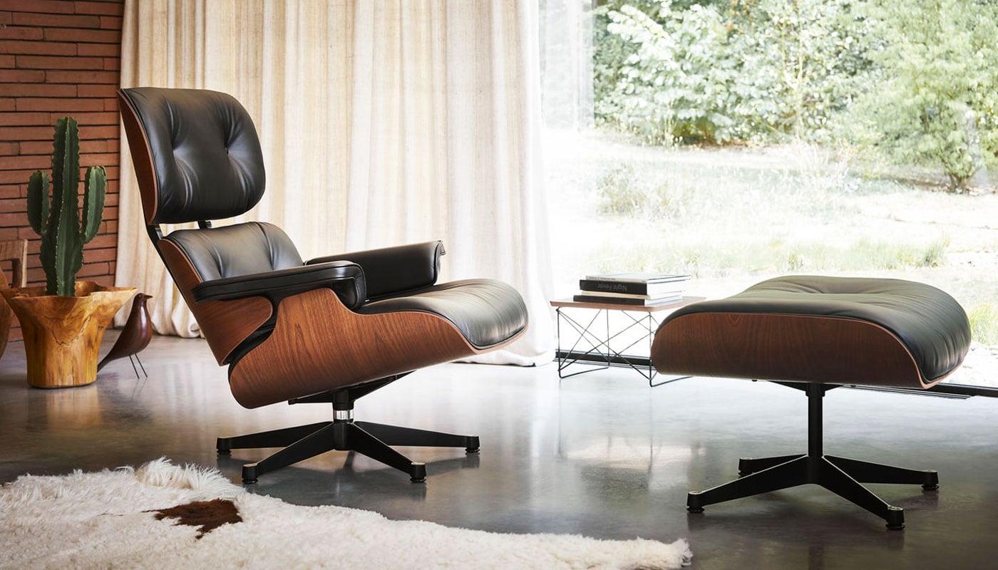 Charles Eames Poltrona Prezzo.Vitra Lounge Chair Ottoman Della Chiara Store