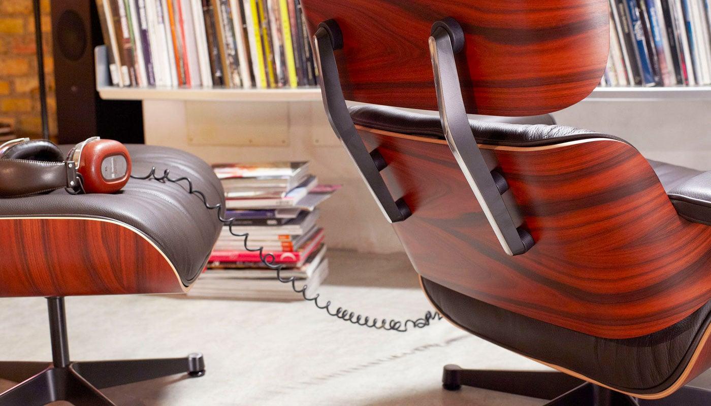Lounge Chair Ottoman VITRA