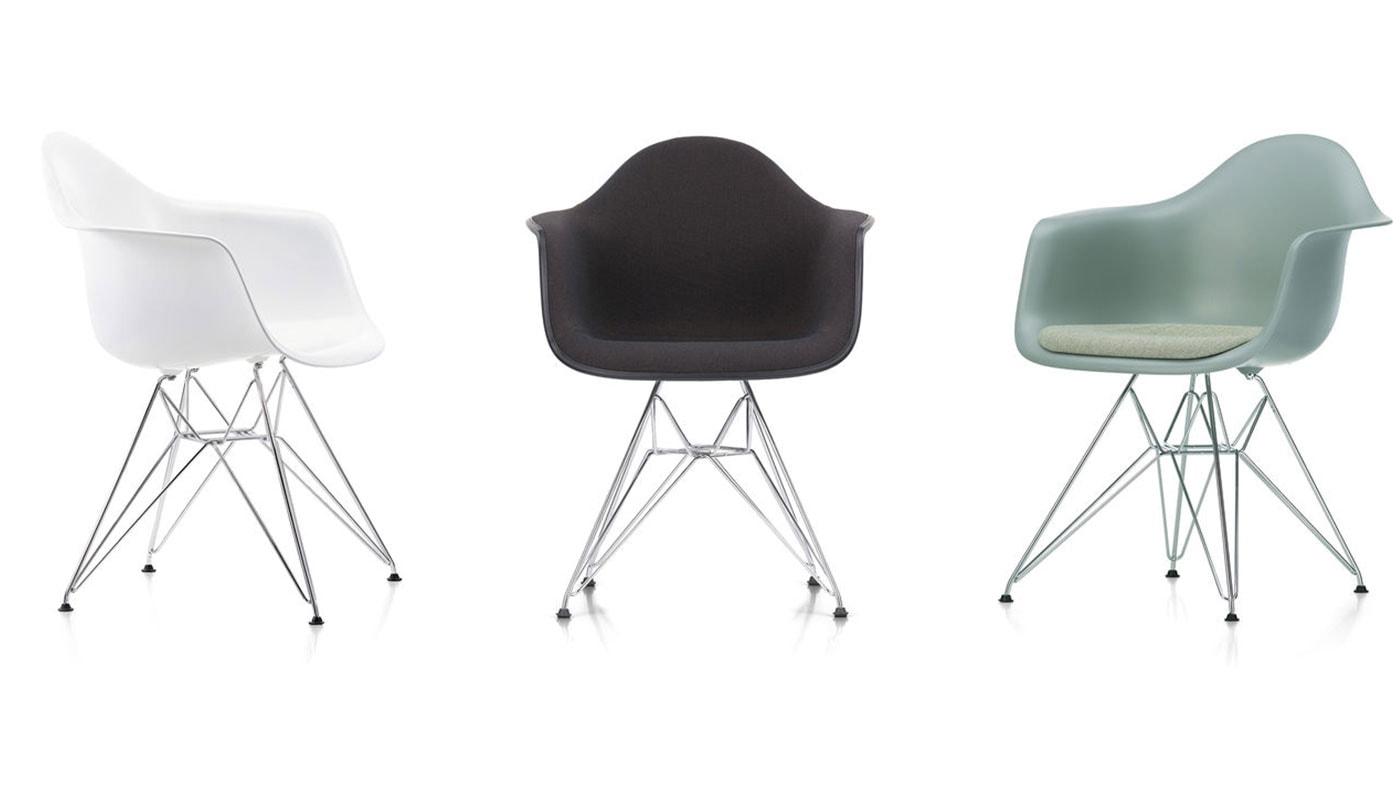 VITRA Eames Dar plastic armchair gallery 2