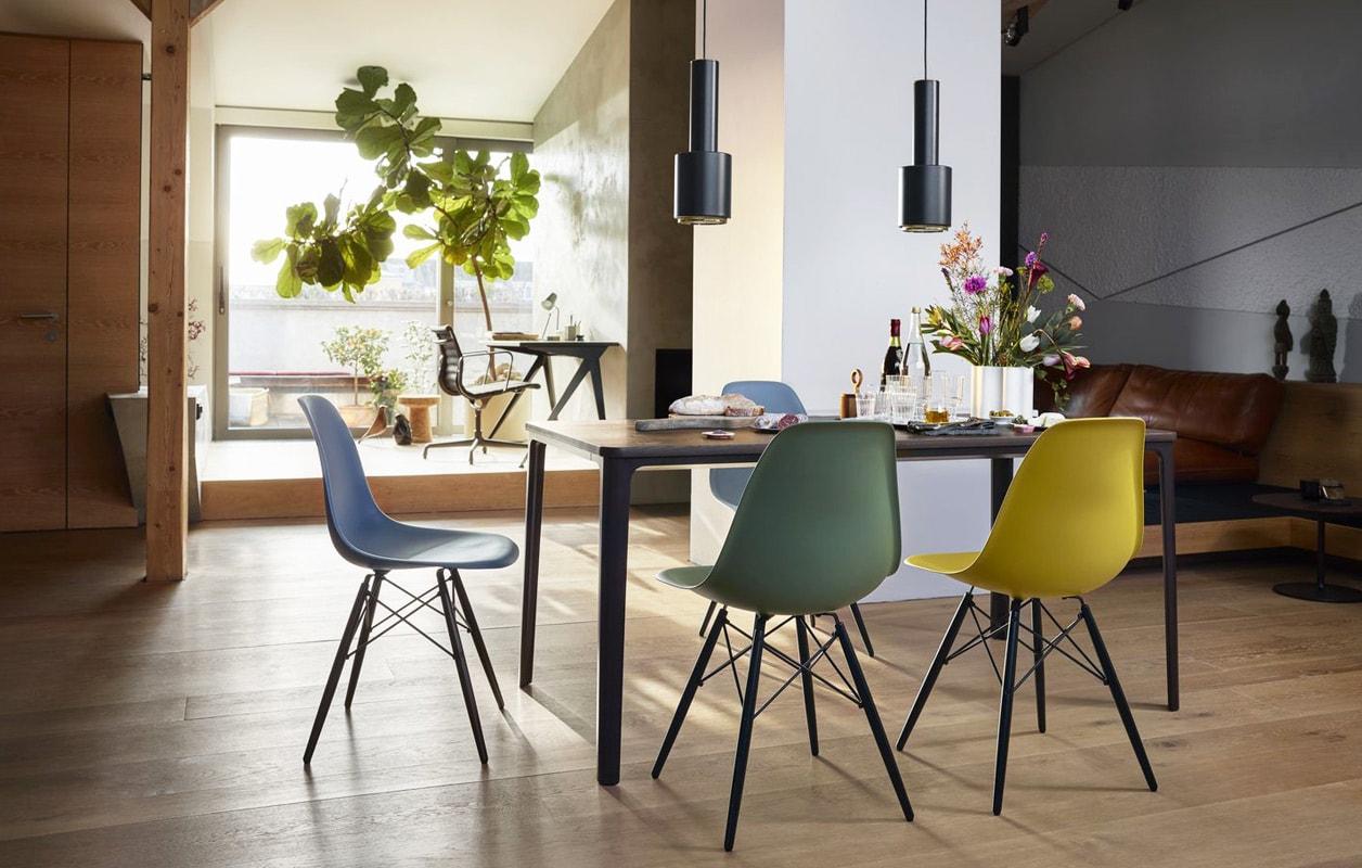 VITRA Eames Plastic Side Chair DSW rgallery 10