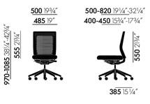 Vitra ID Air poltrona ufficio