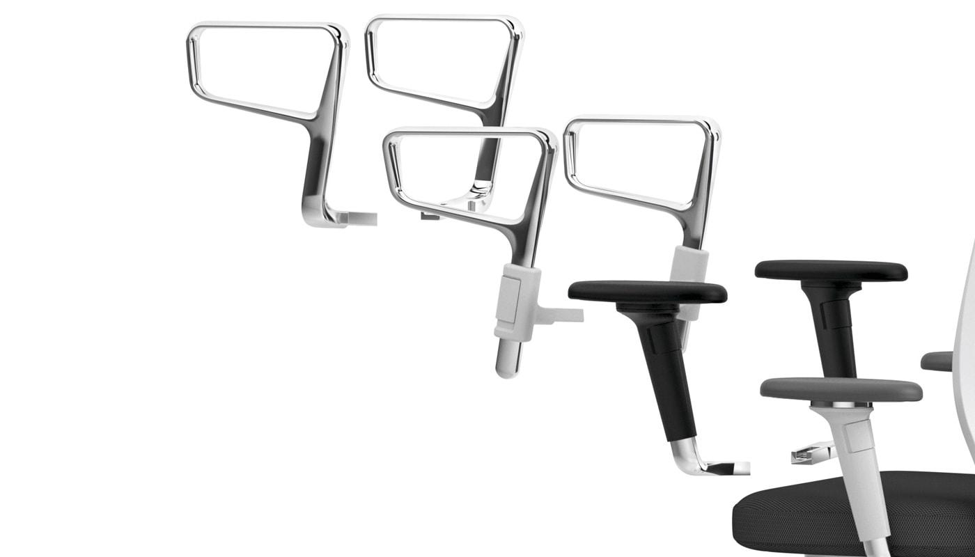 VITRA ID Chair poltrona ufficio braccioli