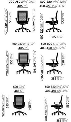 ID Air poltrona ufficio