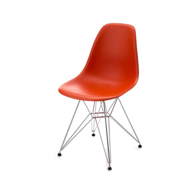 VITRA Side Chair DSR seduta red