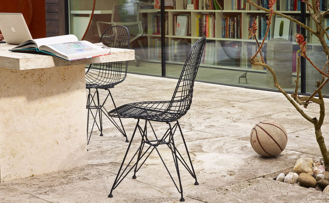 VITRA Wire Chair DKR sedia gallery2