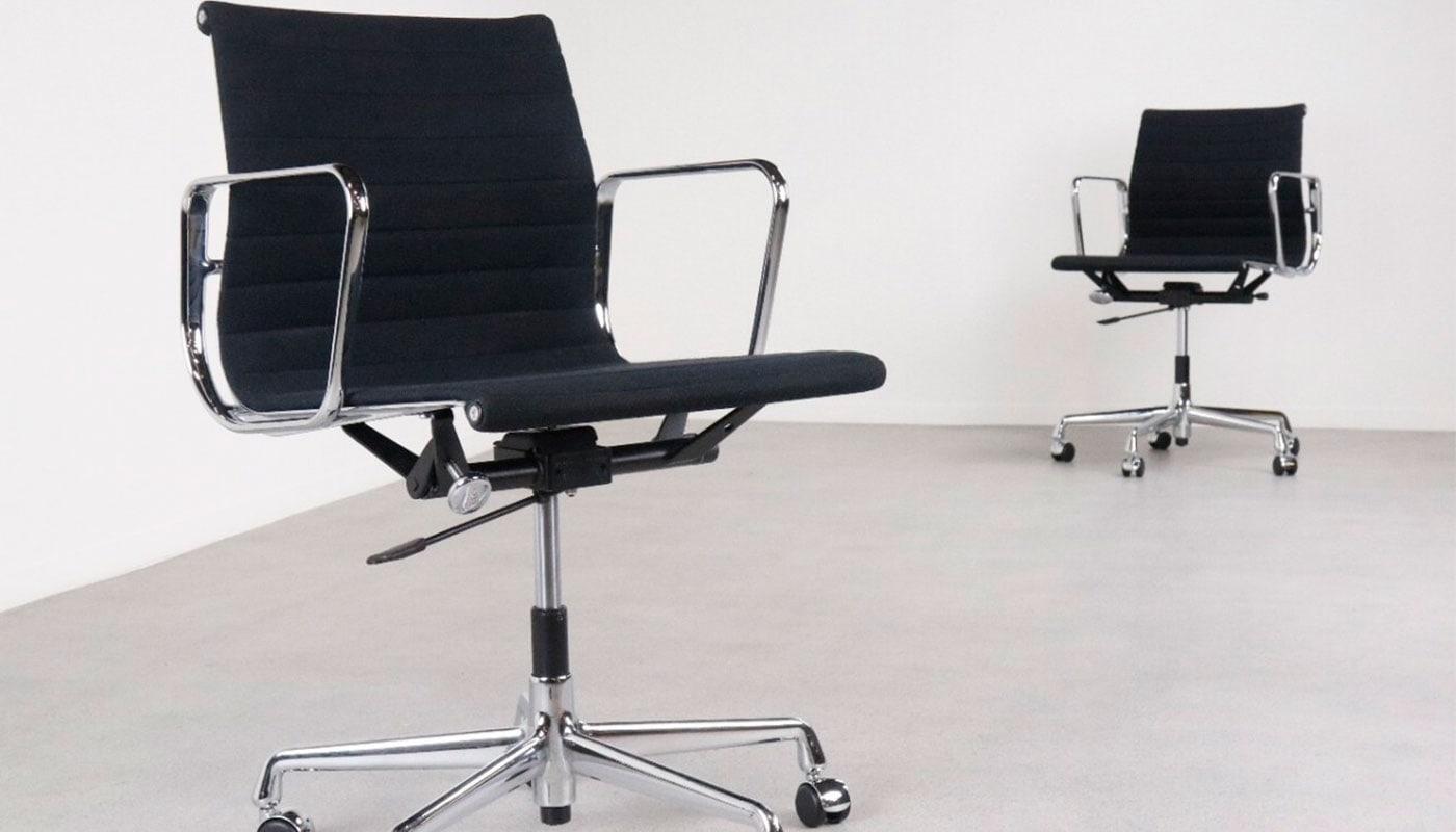Sedie Ufficio Vitra : Vitra aluminium chairs ea e poltrona ufficio della chiara