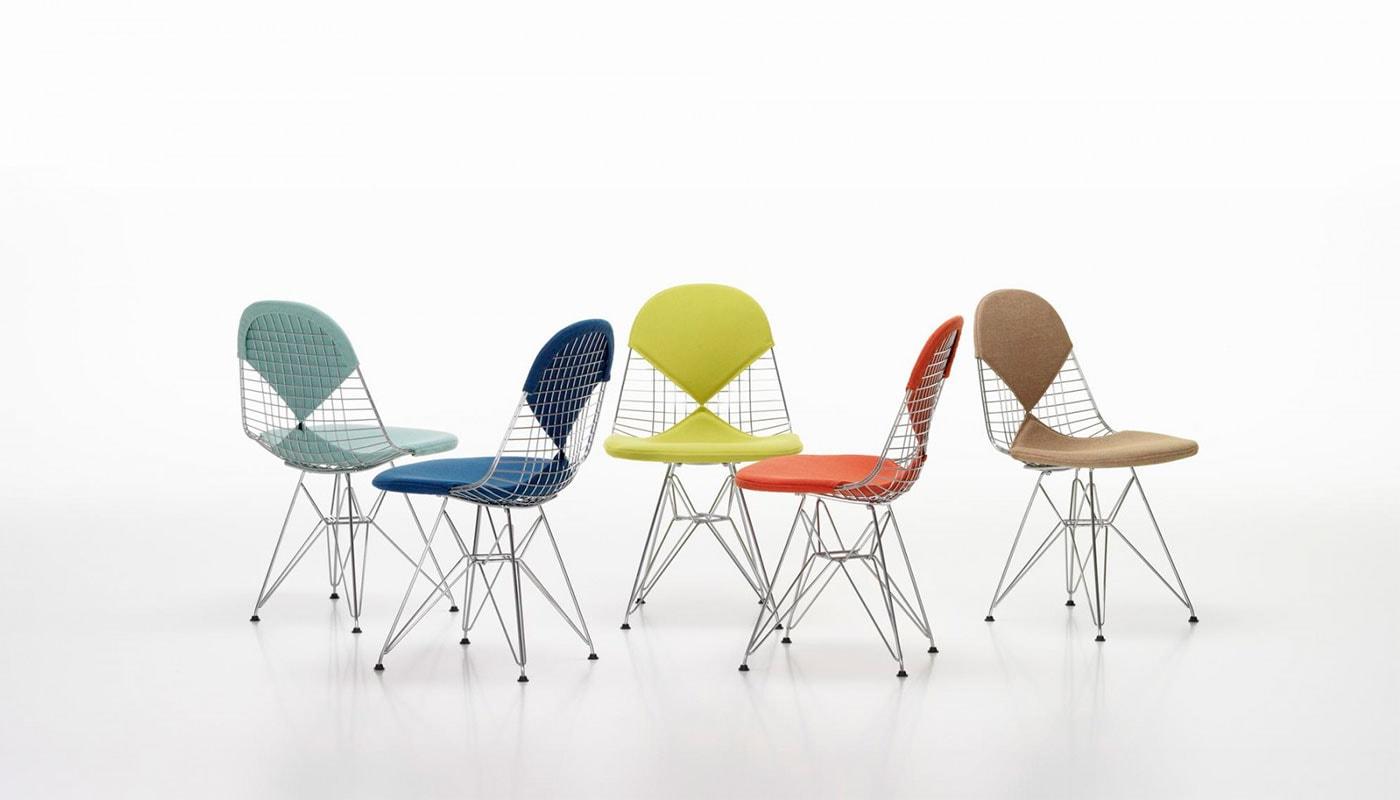 Filo Plastica Per Sedie.Vitra Wire Chair Dkr Sedia Della Chiara Store