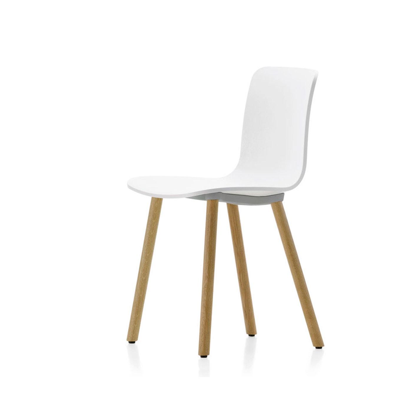 VITRA Hal Wood sedia gambe in legno