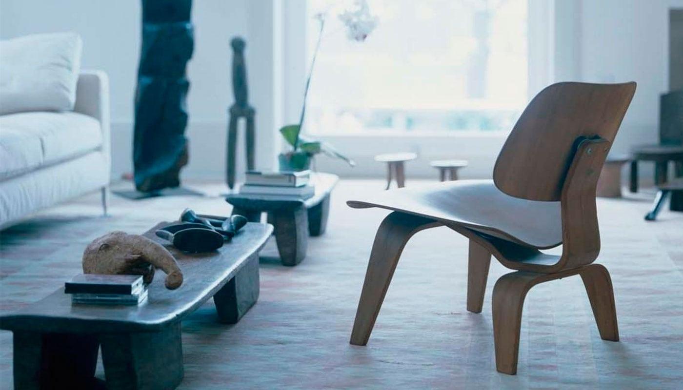 Vitra Plywood LCW lounge