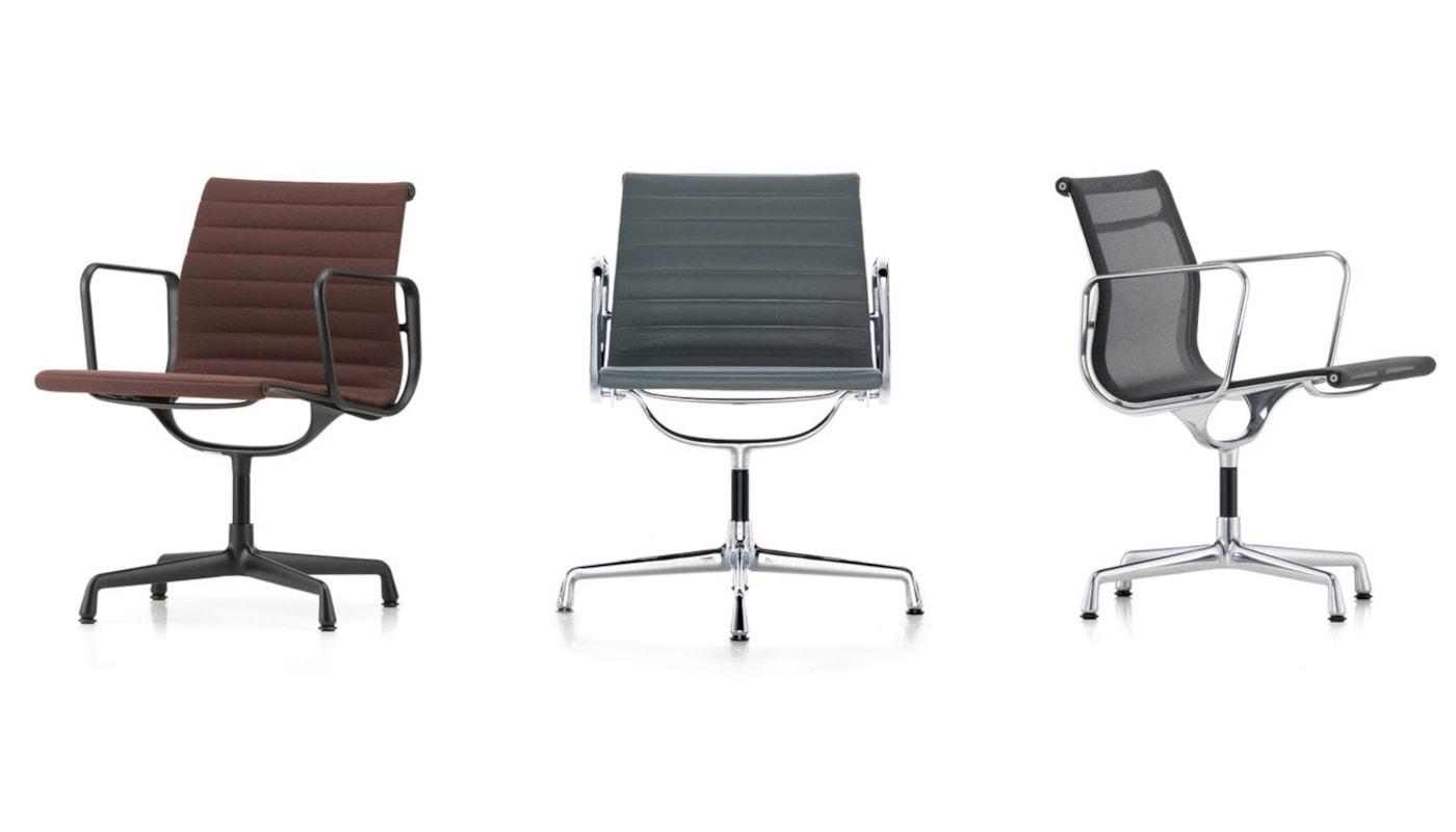Vitra Aluminium Chairs-EA - 105 - 107 - 108 - gallery