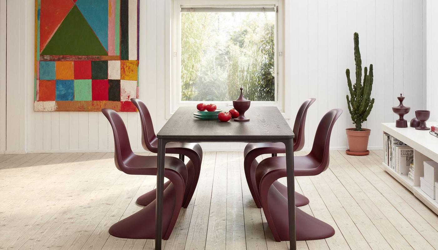 Vitra Panton chair bordeaux - gallery