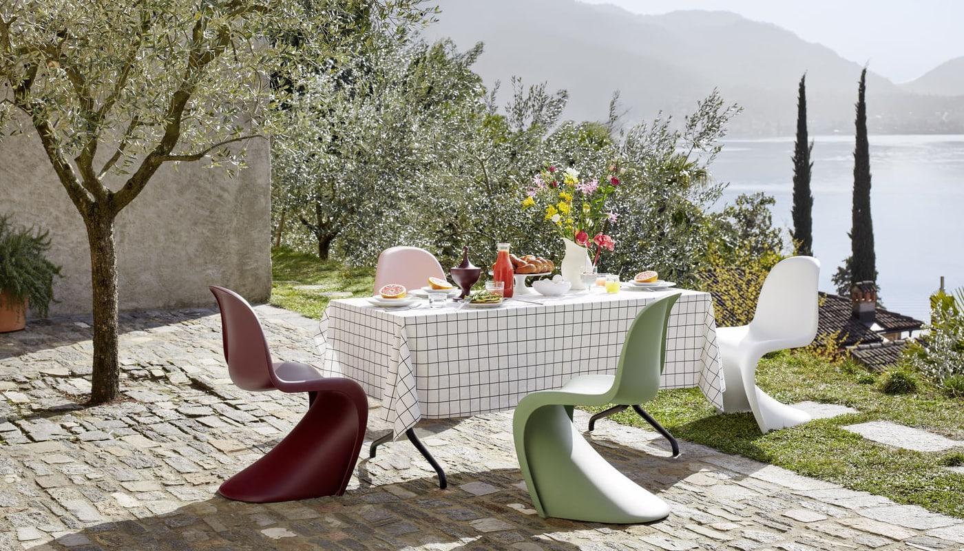 Vitra Panton chair outdoor - gallery2