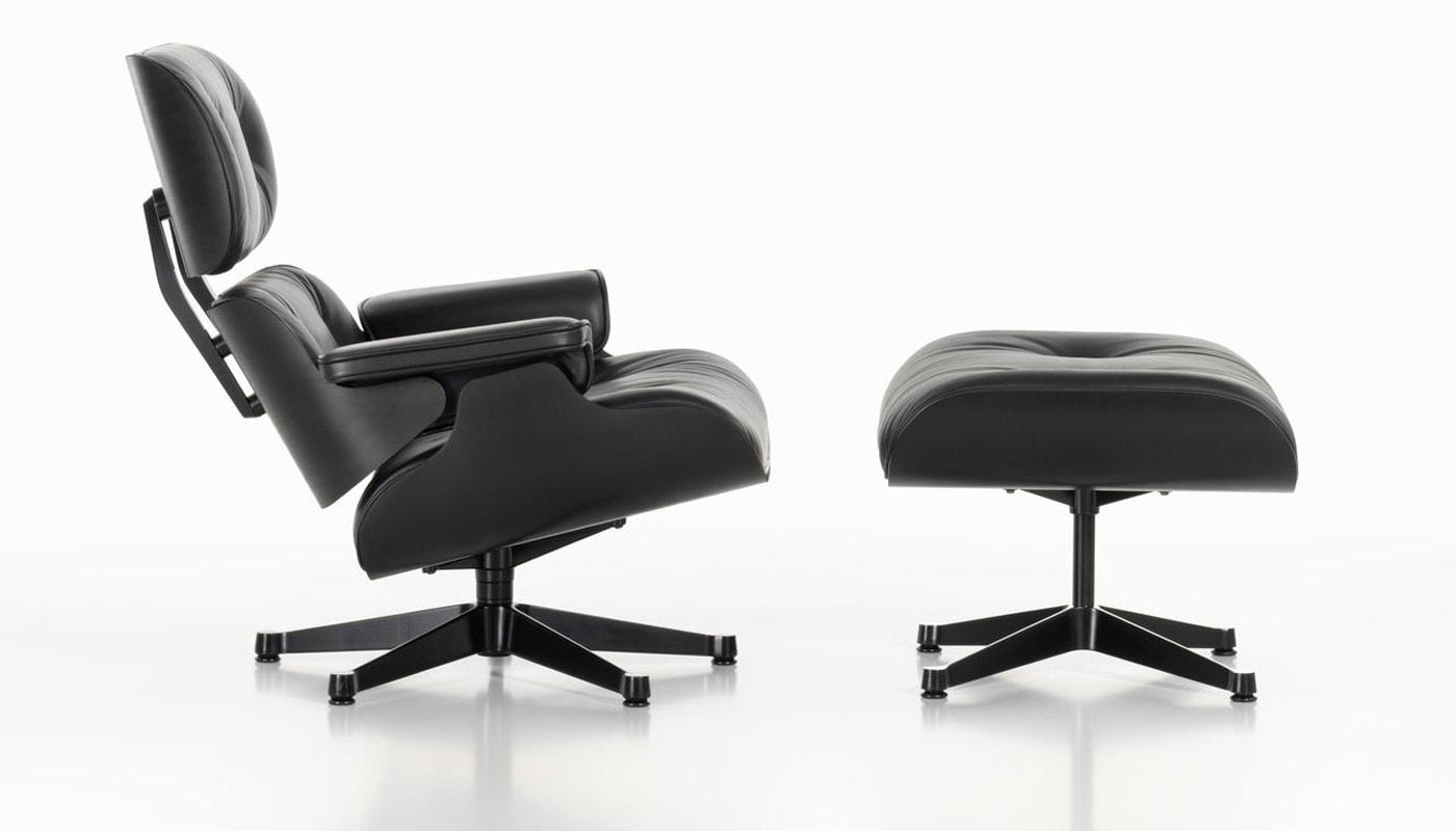 Vitra Lounge Chair frassino Nero gallery