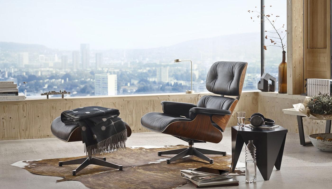 Vitra Lounge Chair poltrona ottoman gallery 10