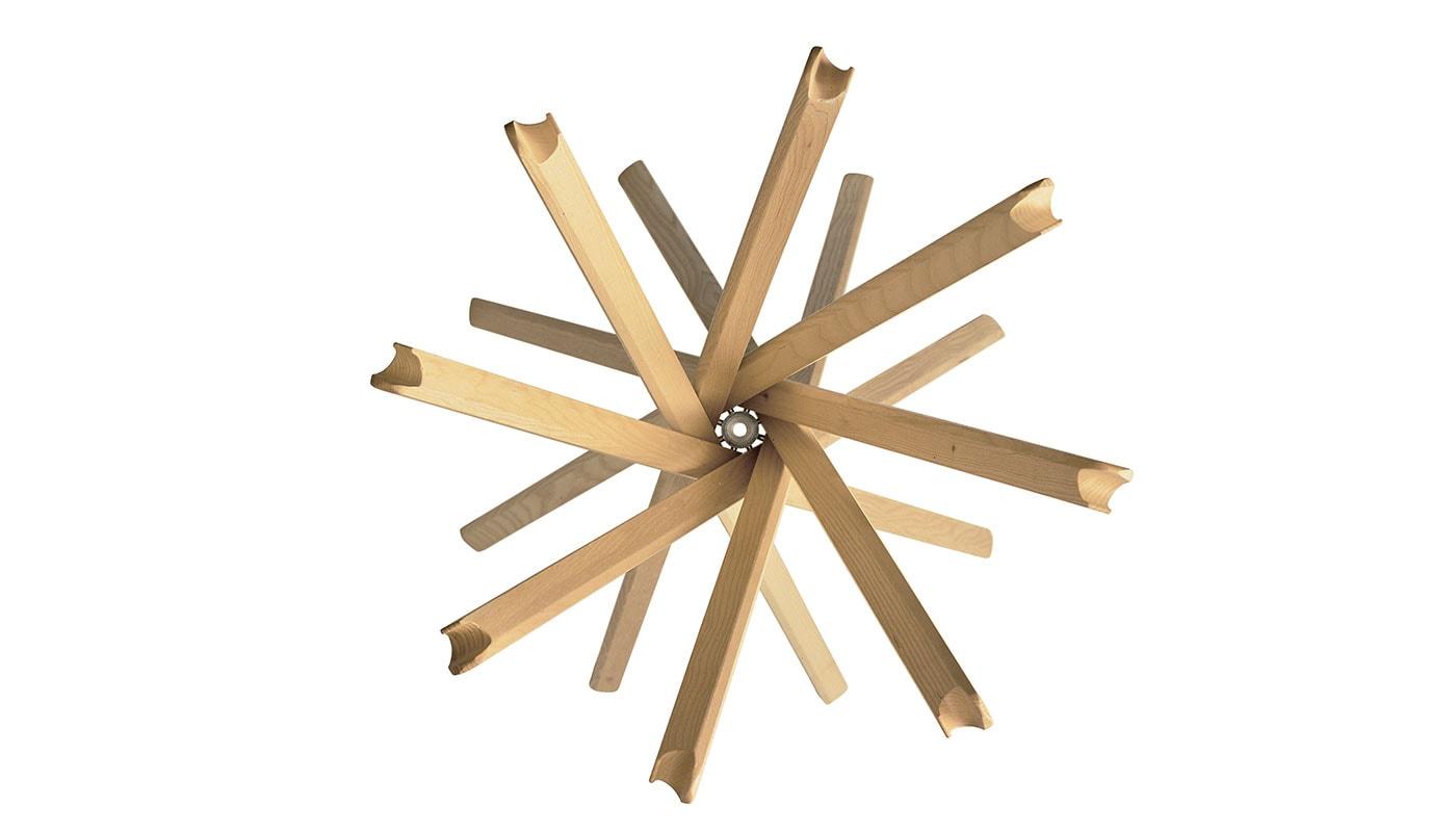 Sciangai appendiabiti in legno