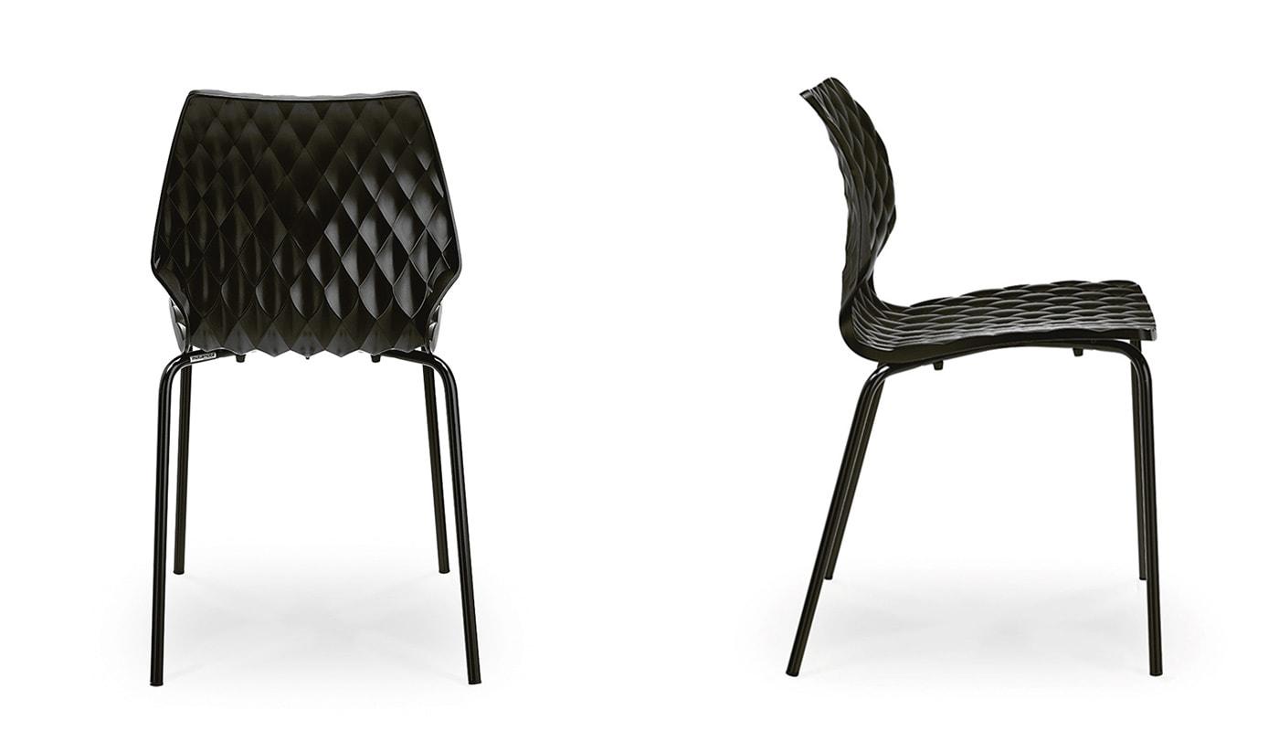 Et al Uni sedia gambe in acciaio - shop online