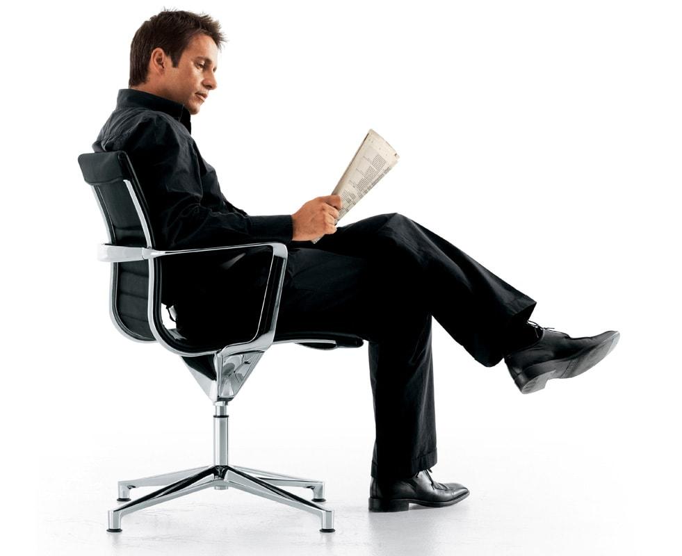 ICF Una Chair Management Schienale Basso UNA gallery 2